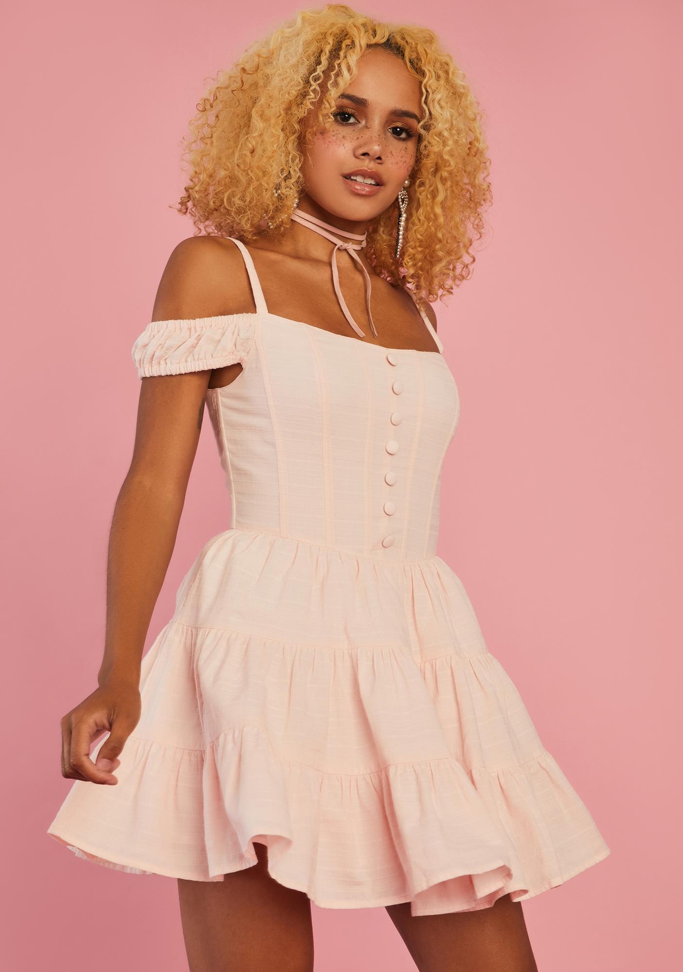 Sugar Thrillz Go With Grace Babydoll Dress