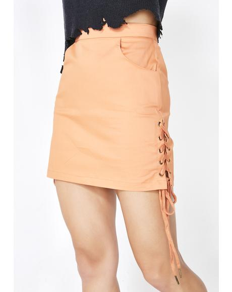 Who Loves Orange Soda Skirt