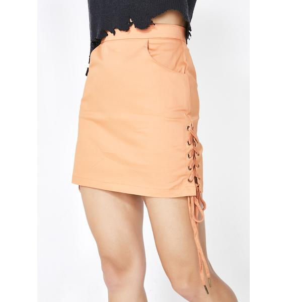 Who Loves Orange Soda Skirt