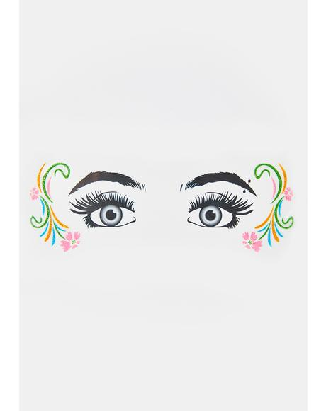 Mystical Maiden Glitter Eye Decals