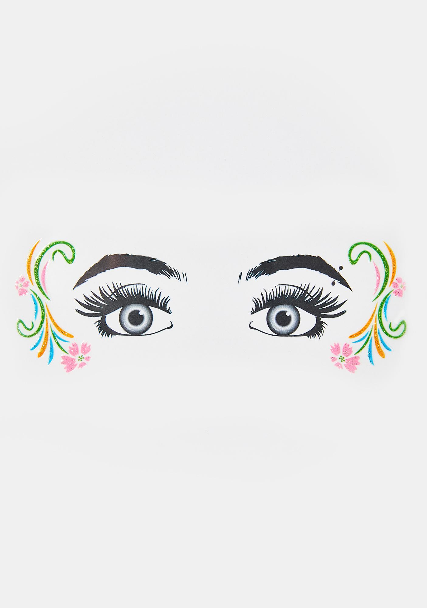 Mystical Maiden Glitter Eye Decals