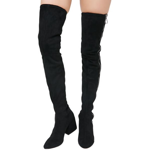 Dolce Vita Vix Zip-Up Over The Knee Boots