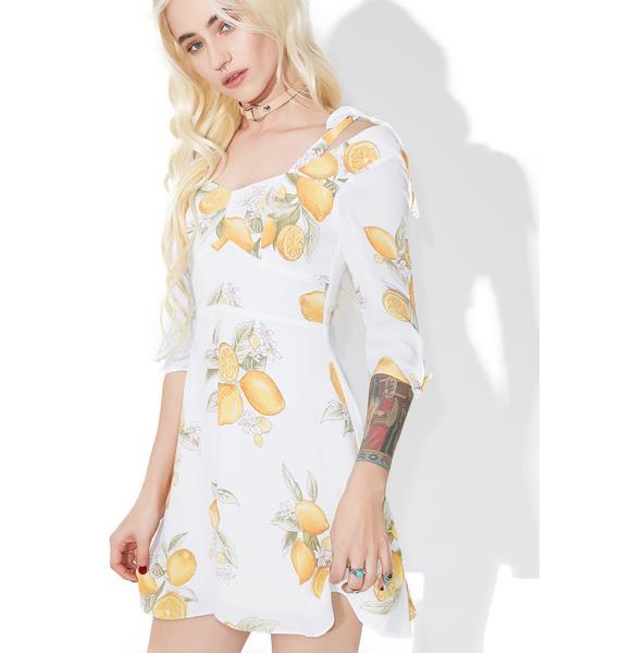 For Love & Lemons Limonada Mini Dress