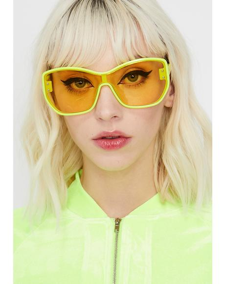High Stakes Oversize Sunglasses