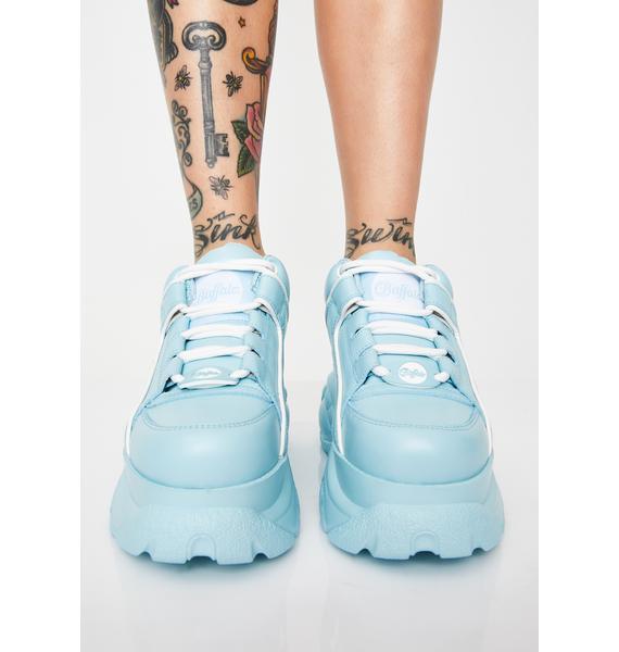 Buffalo London Sky Classic Low Leather Sneakers