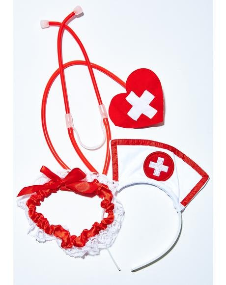 Doctor's Orders Nurse Accessories Set