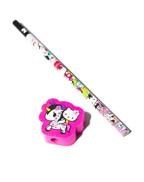 x Hello Kitty Unicorno Pencil