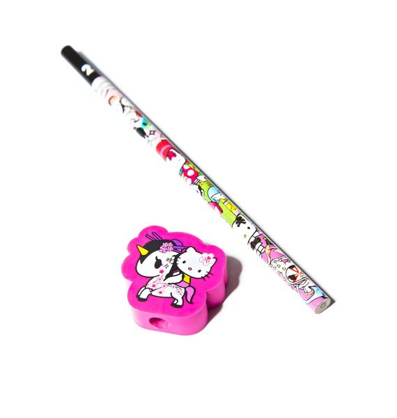 Tokidoki x Hello Kitty Unicorno Pencil