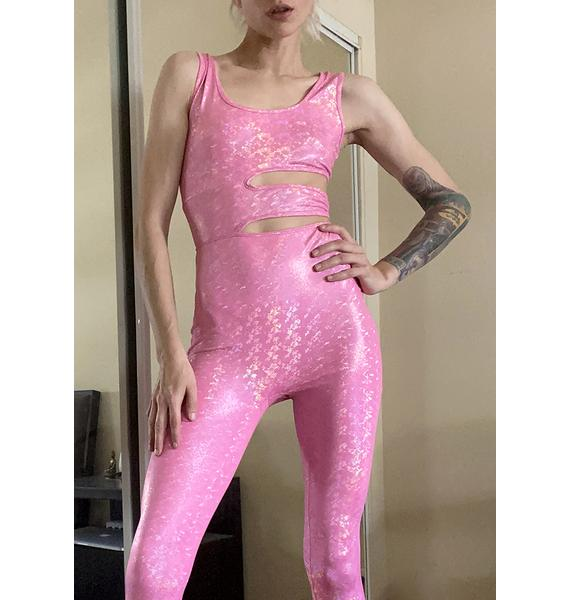 Endless Trance Cut Out Catsuit