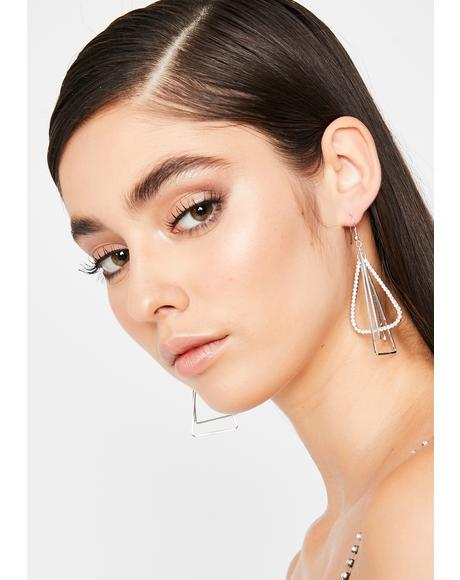 I've Arrived Drop Earrings