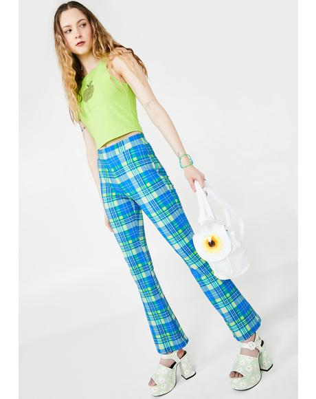 IRL Queen Plaid Pants
