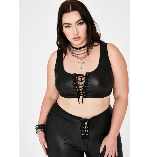 Total Cowgirl Commotion Lace-Up Set