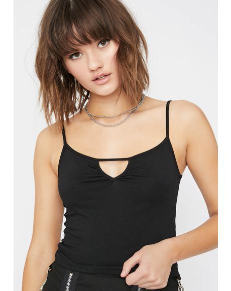 Troublemaker Crop Cami