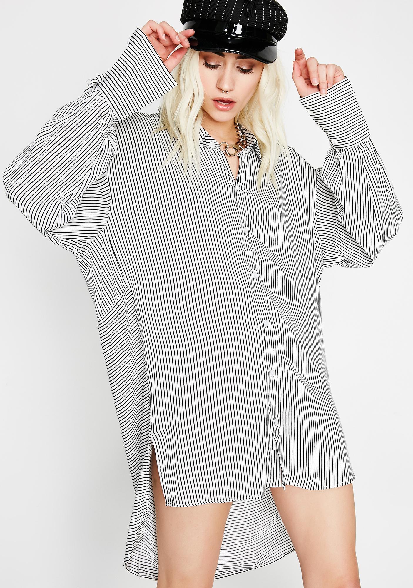Know It All Stripe Shirt