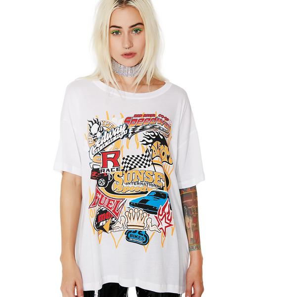 Pit Stop Graphic Tee