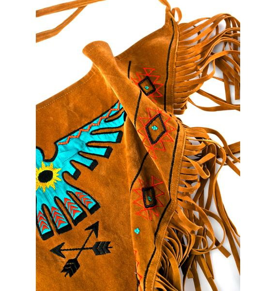 Rustic Almighty Eagle Scarf