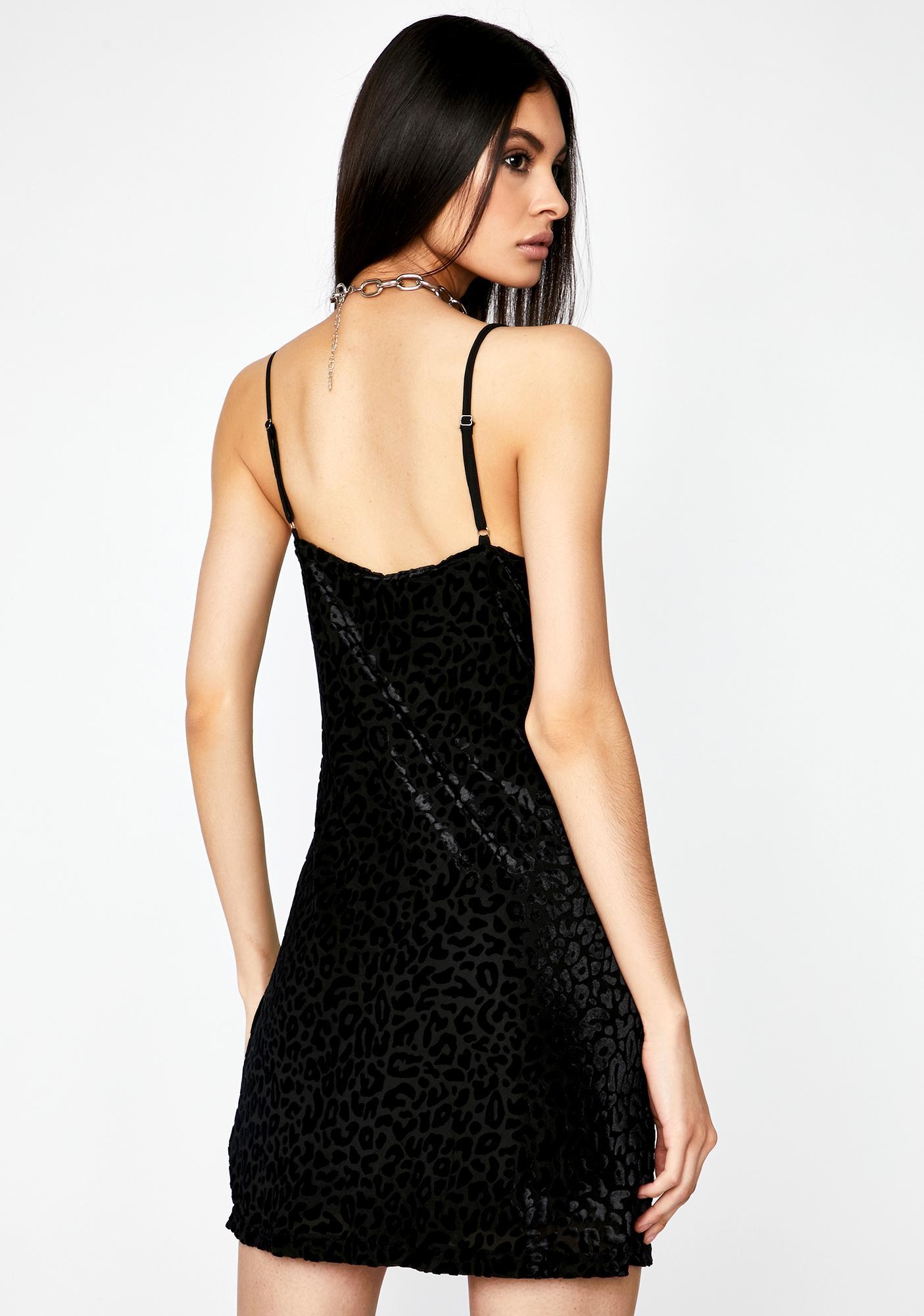 Fierce Fanatic Leopard Dress
