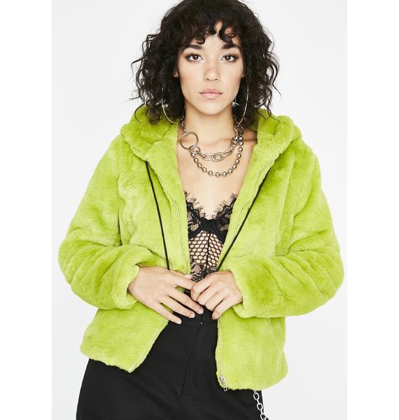 Biohazard Fuzzy Feelings Hooded Jacket