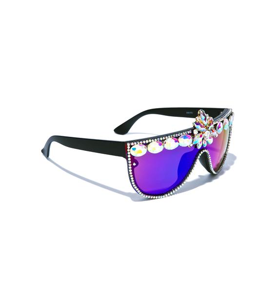 ReblKitty Trap Queen Sunglasses