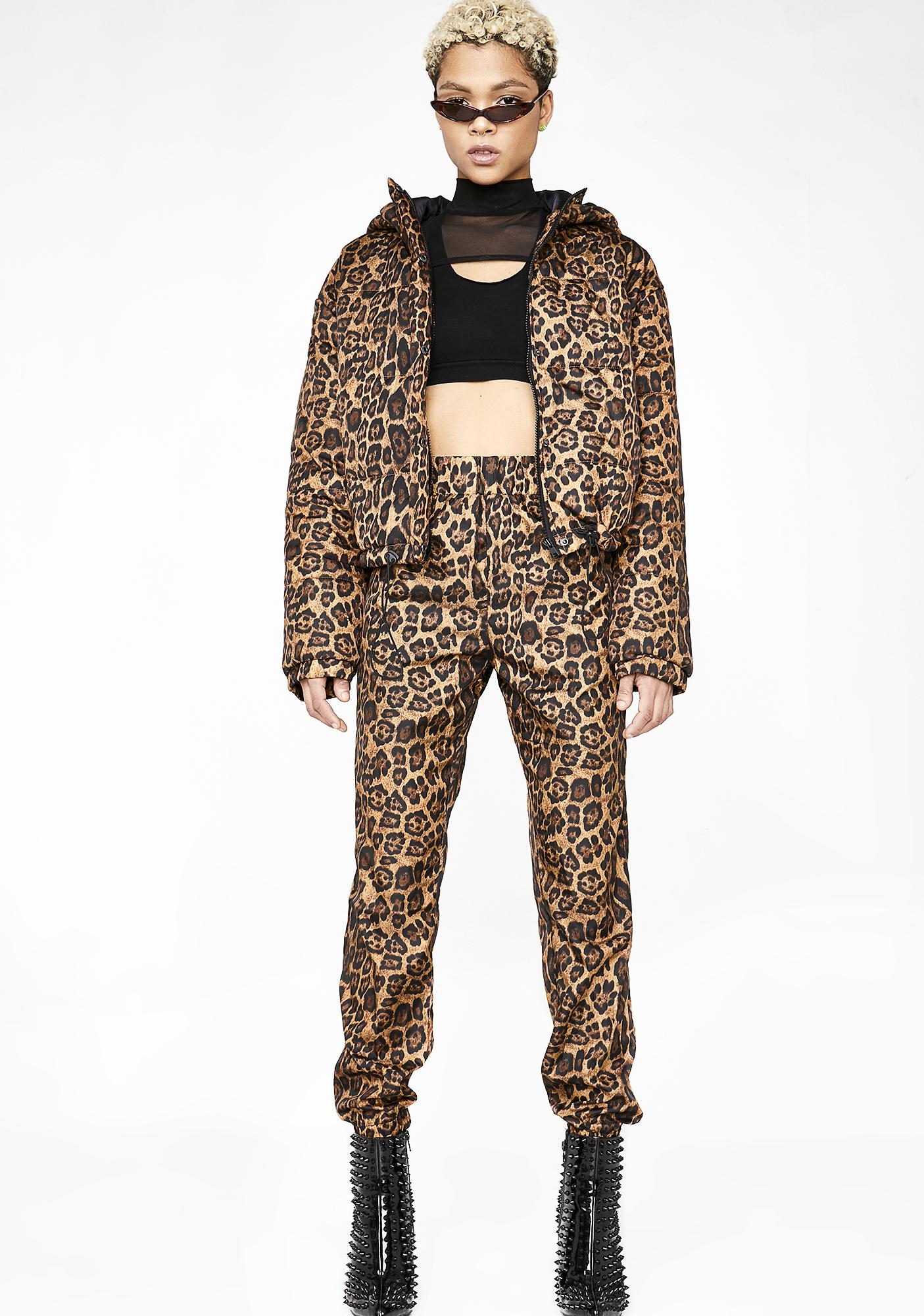 Wild Roaring Puffer Jacket