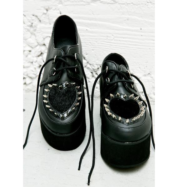 Demonia Last Love Platform Creepers