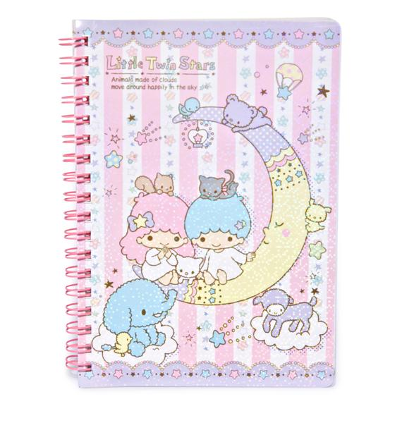 Sanrio Little Twin Stars Spiral Notebook