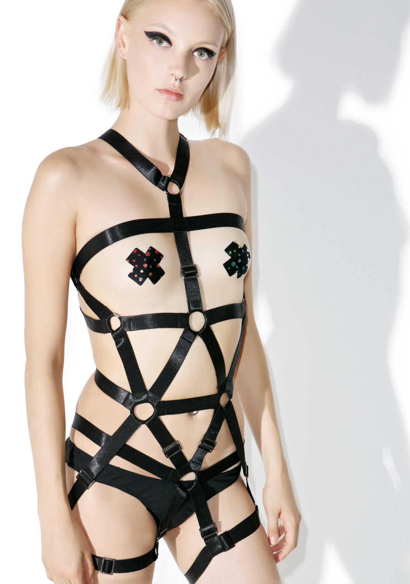 Teale Coco Blackmass Full Body Harness