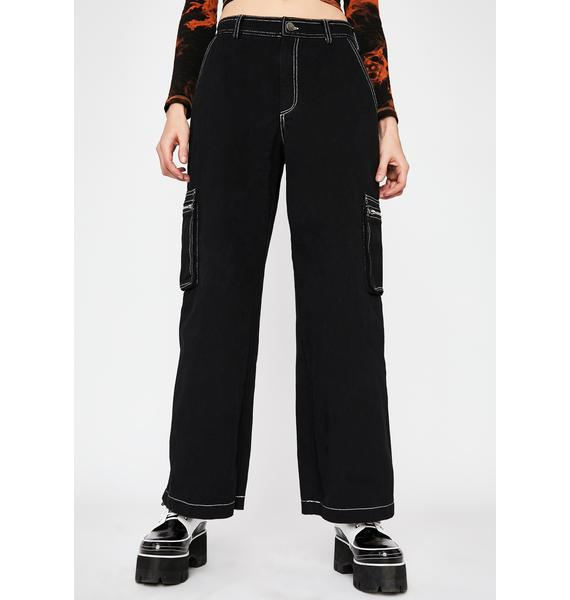 Current Mood Hard Knox Contrast Stitch Jeans