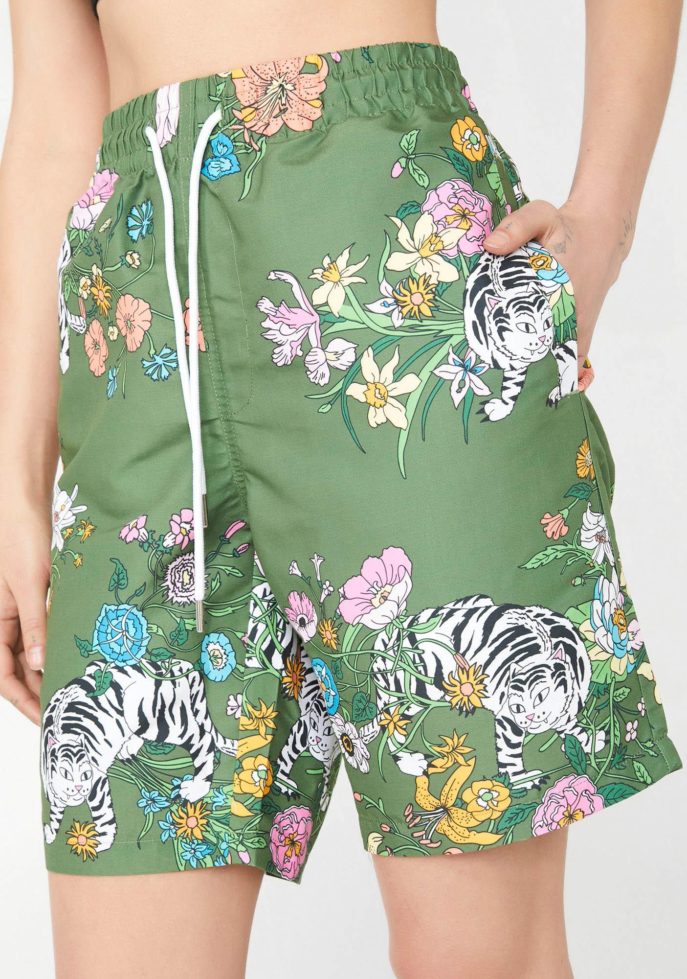 36b4637287 RIPNDIP Blooming Nerm Swim Shorts | Dolls Kill