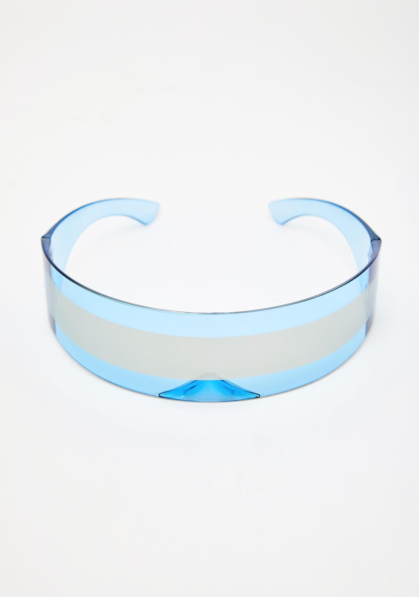 Futuristic Freeze Shield Sunglasses