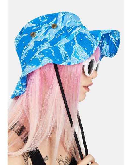 Tiger Camo Boonie Hat