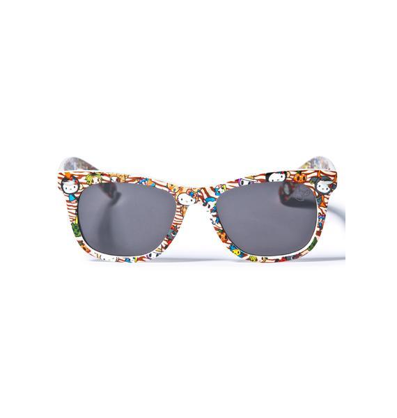 Sanrio Tokidoki X Hello Kitty Summer Safari Sunglasses