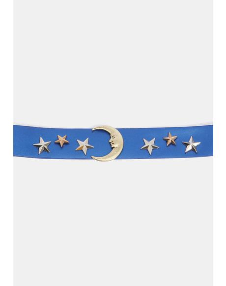 Hidden Star Studded Choker