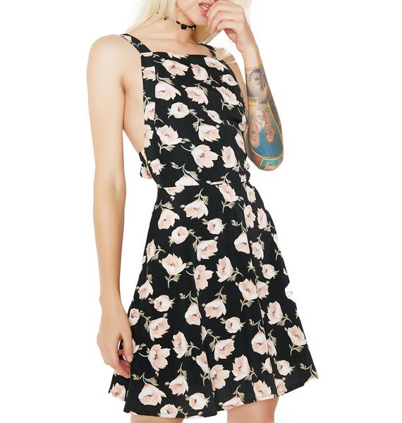 Sweet Lily Floral Dress