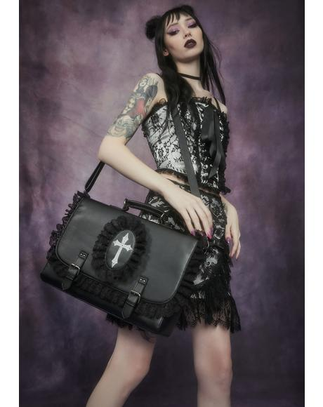 Infernal Blessing Gothic Satchel Bag