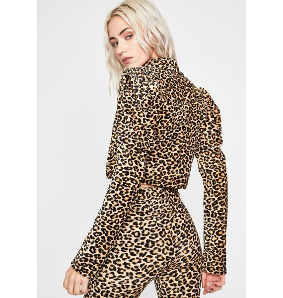 I Just Wanna Crop Jacket