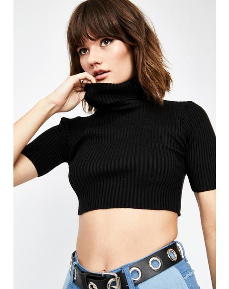 In My Feelings Crop Sweater