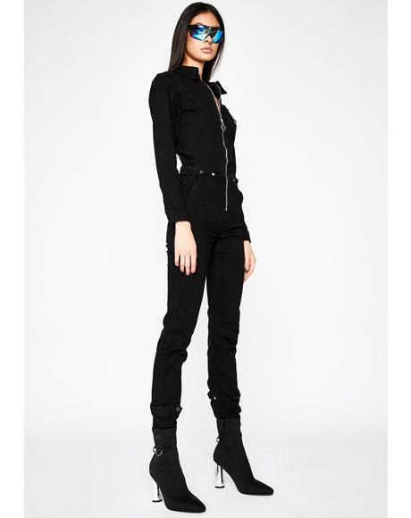 Freak Fuse Zip Up Jumpsuit