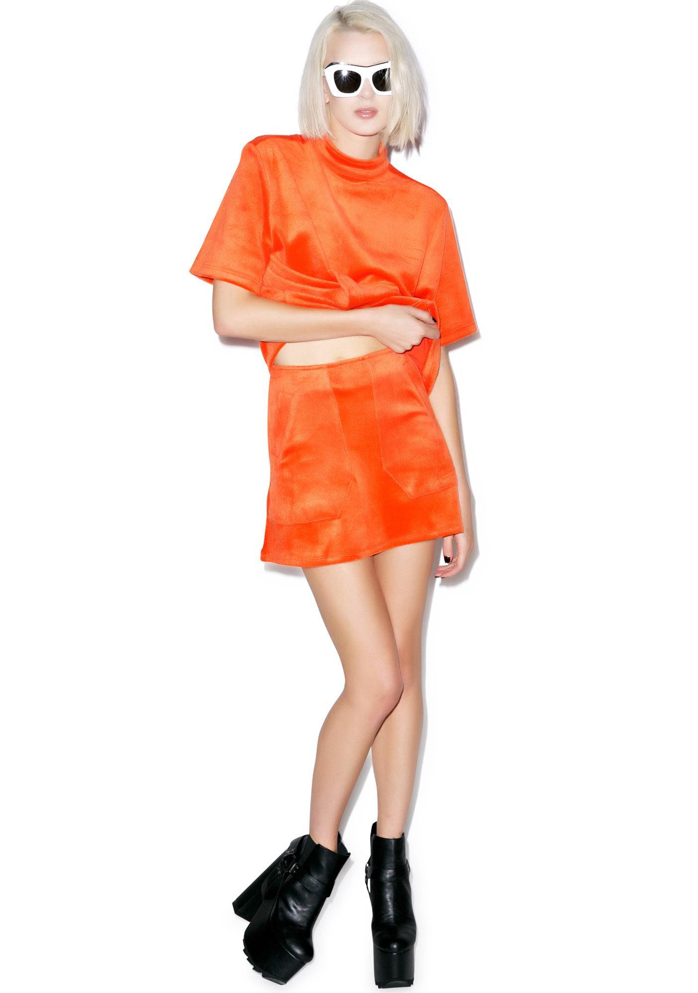 Motel Nikki A-Line Skirt