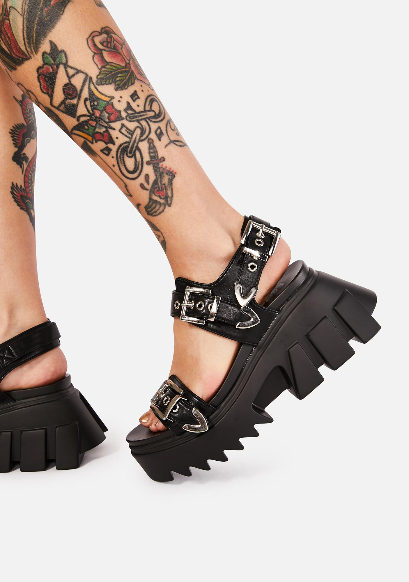 Lamoda Easy Life Platform Sandals