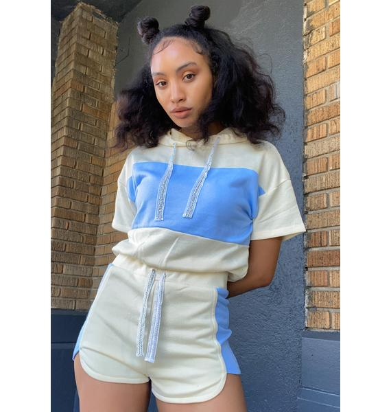 Stayin' Sane Shorts Set