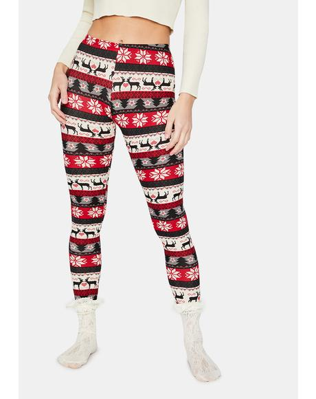 Chill This Season Holiday Leggings