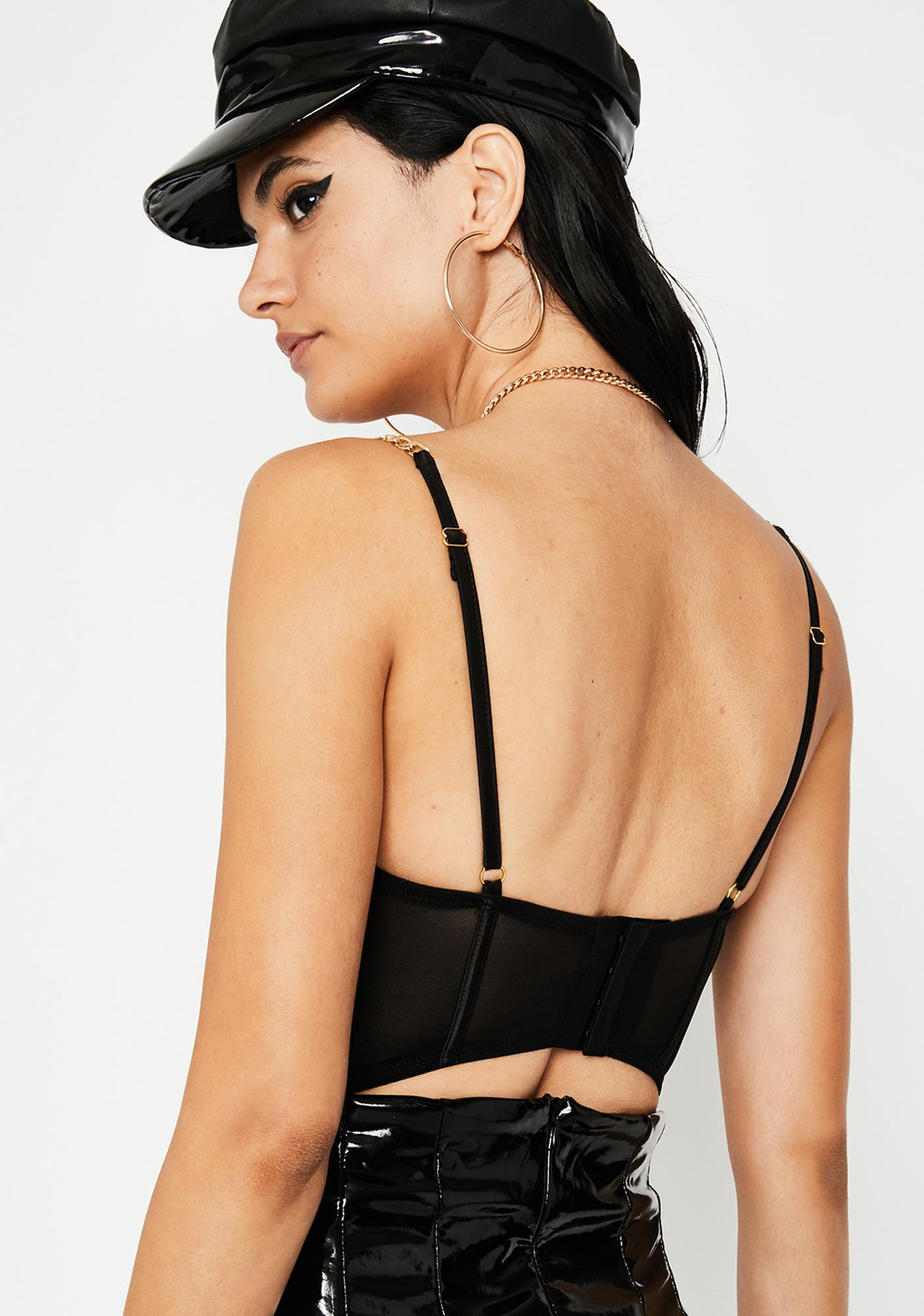 Deadly Sin Caged Bodysuit