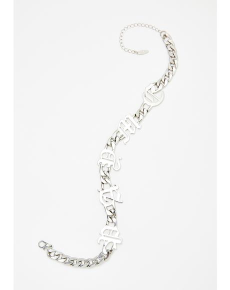 Money Honey Chain Choker
