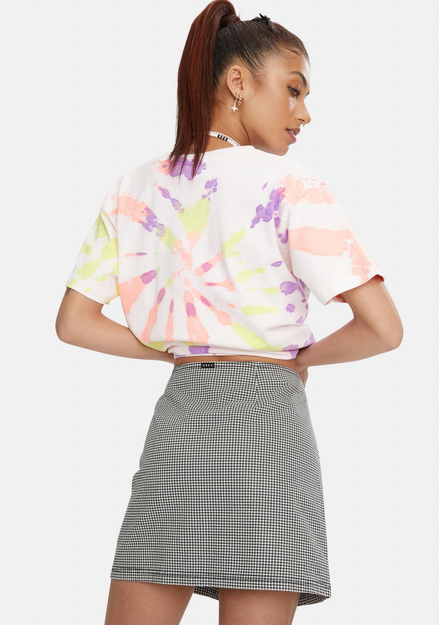 Obey  Creeper Mini Skirt