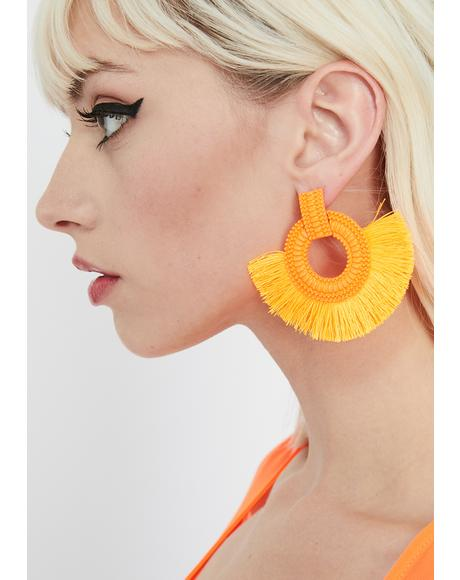 Juicy Sonic Vixen Fringe Earrings