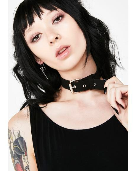 Wild One Buckle Choker