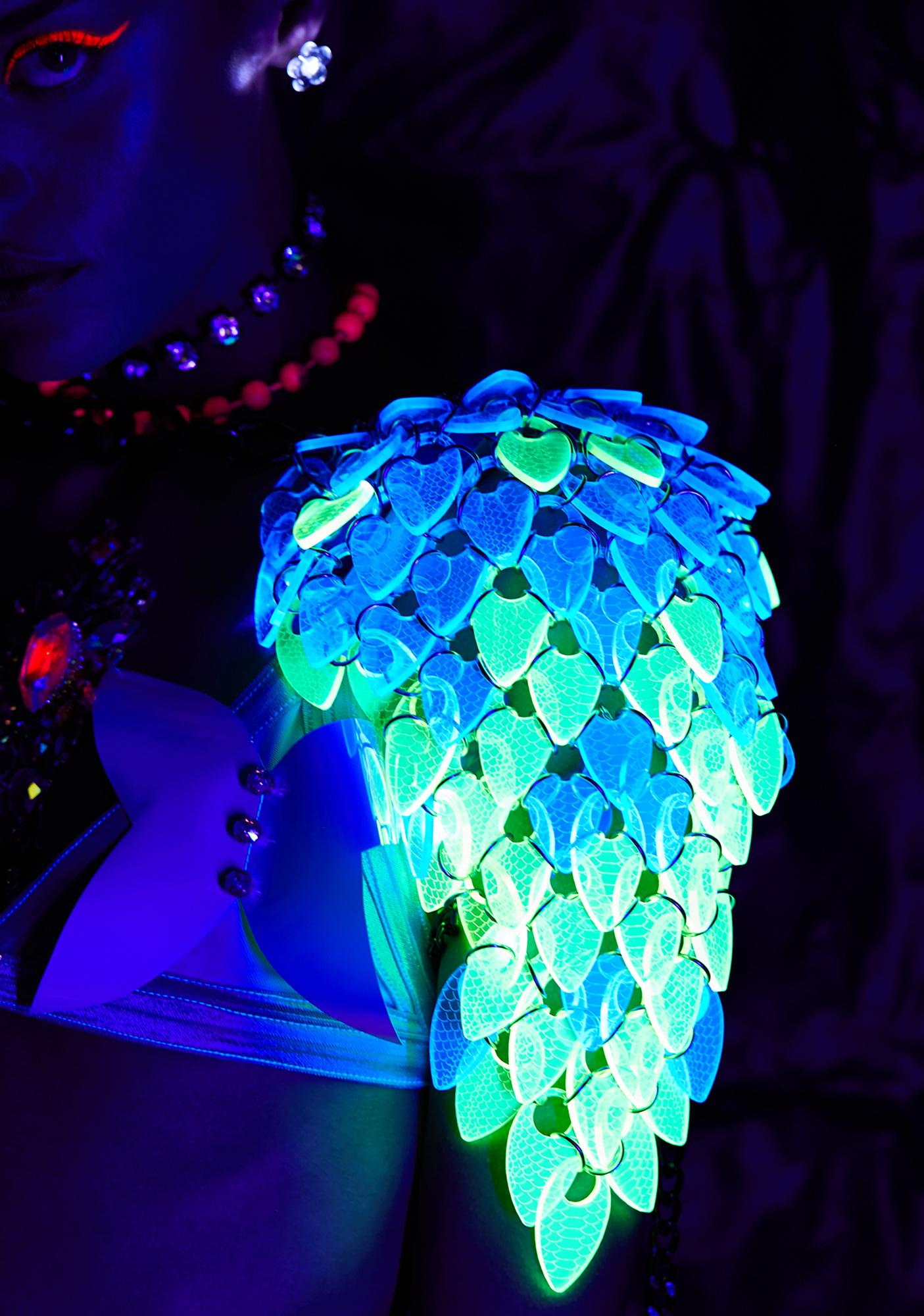 Electric Candy Couture LED Eagle Angel Shoulder Wings