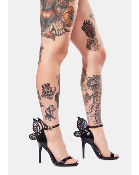 Pixie Princess Butterfly Heels