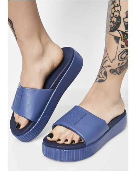 Indigo Platform Slide EP Sandals